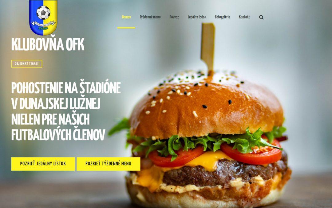 Klubovňa OFK – reštaurácia na štadióne opäť v prevádzke