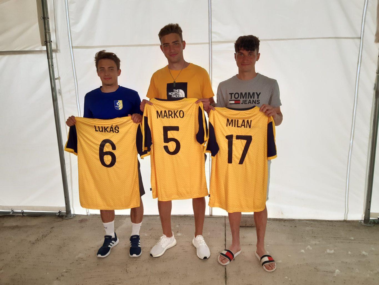 Rozlúčka 3 hráčov dorastu U19