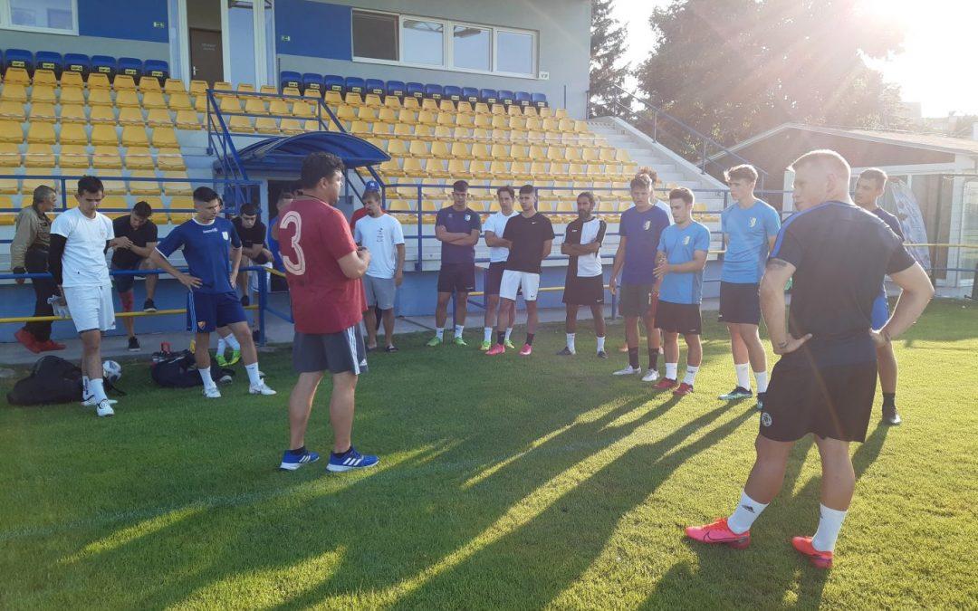 Prvý tréning A mužstva v novej sezóne 2021/22